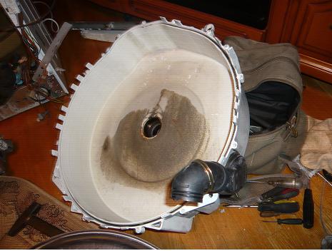 Замена подшипника на стиральной машине атлант своими руками